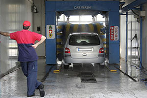 automatic car wash payment processing