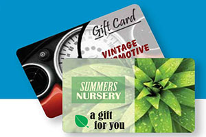 gift and loyalty cards